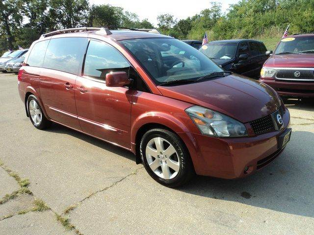 2004 Nissan Quest for sale at CRESTWOOD AUTO AUCTION in Crestwood IL