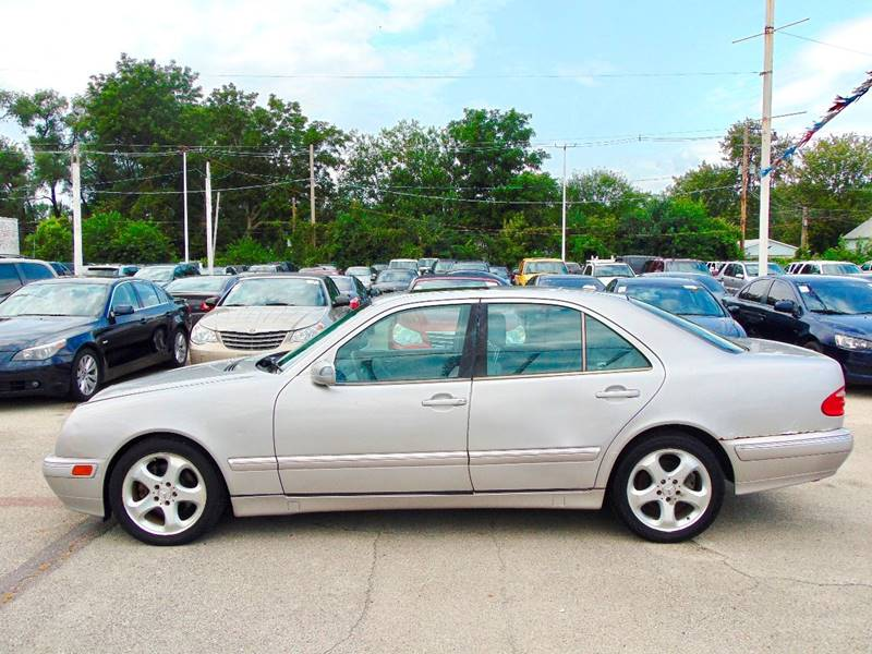 2002 Mercedes-Benz E-Class for sale at CRESTWOOD AUTO AUCTION in Crestwood IL
