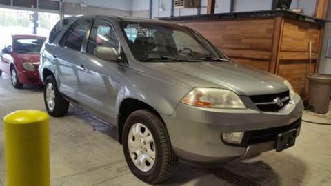 2001 Acura MDX for sale at CRESTWOOD AUTO AUCTION in Crestwood IL