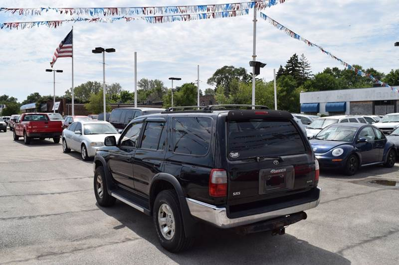 1997 Toyota 4Runner for sale at CRESTWOOD AUTO AUCTION in Crestwood IL
