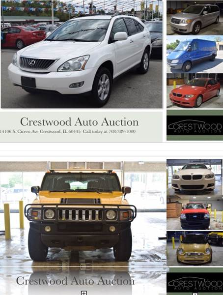 2004 Oldsmobile Bravada for sale at CRESTWOOD AUTO AUCTION in Crestwood IL