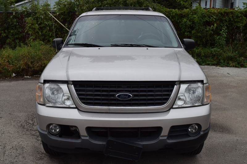 2002 Ford Explorer for sale at CRESTWOOD AUTO AUCTION in Crestwood IL