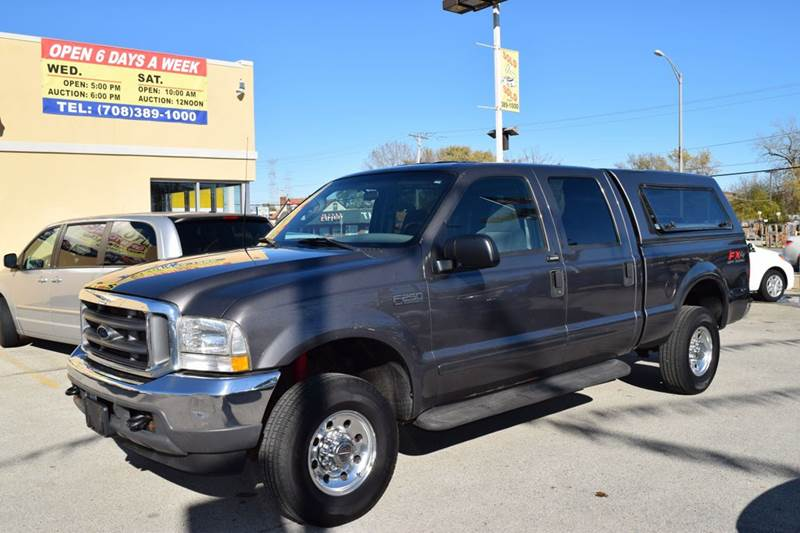2003 Ford F-250 Super Duty for sale at CRESTWOOD AUTO AUCTION in Crestwood IL