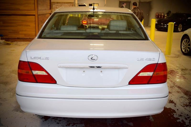 2002 Lexus LS 430 for sale at CRESTWOOD AUTO AUCTION in Crestwood IL