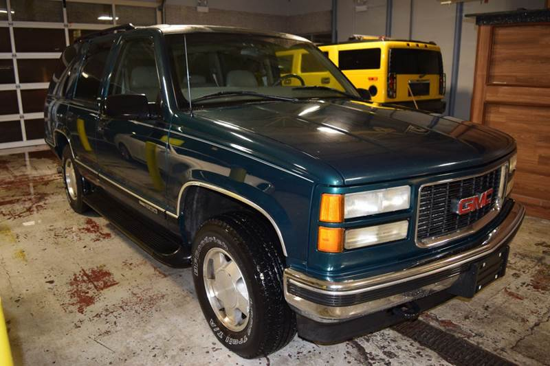 1999 GMC Yukon for sale at CRESTWOOD AUTO AUCTION in Crestwood IL