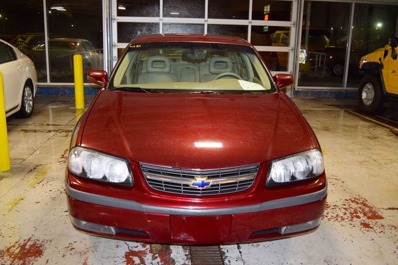 2002 Chevrolet Impala for sale at CRESTWOOD AUTO AUCTION in Crestwood IL
