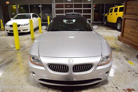 2004 BMW Z4 for sale at CRESTWOOD AUTO AUCTION in Crestwood IL