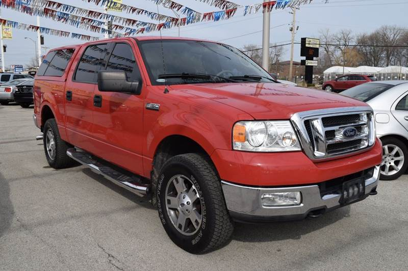 2004 Ford F-150 for sale at CRESTWOOD AUTO AUCTION in Crestwood IL