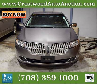 2010 Lincoln MKZ for sale in Crestwood, IL