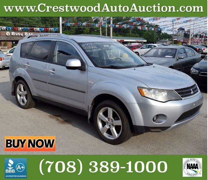 2007 Mitsubishi Outlander for sale at CRESTWOOD AUTO AUCTION in Crestwood IL