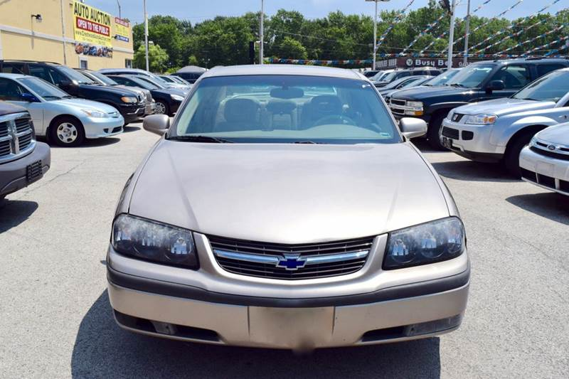 2003 Chevrolet Impala for sale at CRESTWOOD AUTO AUCTION in Crestwood IL