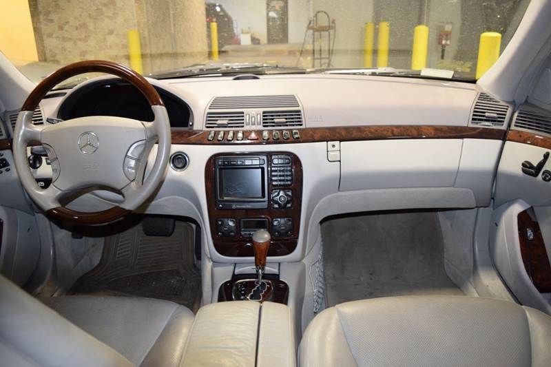 2000 Mercedes-Benz S-Class for sale at CRESTWOOD AUTO AUCTION in Crestwood IL