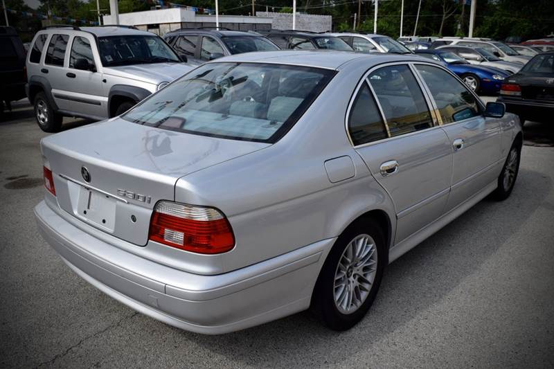 2001 BMW 5 Series for sale at CRESTWOOD AUTO AUCTION in Crestwood IL
