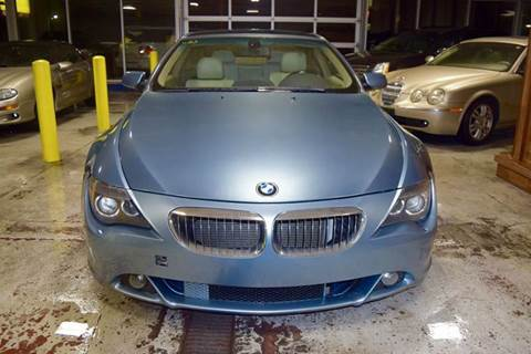 2004 BMW 6 Series for sale at CRESTWOOD AUTO AUCTION in Crestwood IL