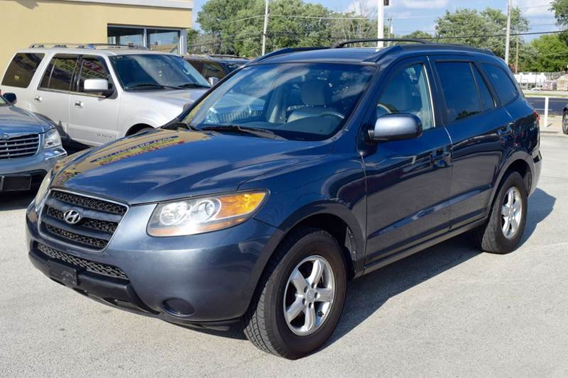 2007 Hyundai Santa Fe for sale at CRESTWOOD AUTO AUCTION in Crestwood IL