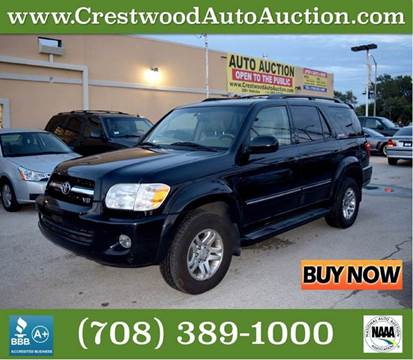 2005 Toyota Sequoia for sale in Crestwood, IL