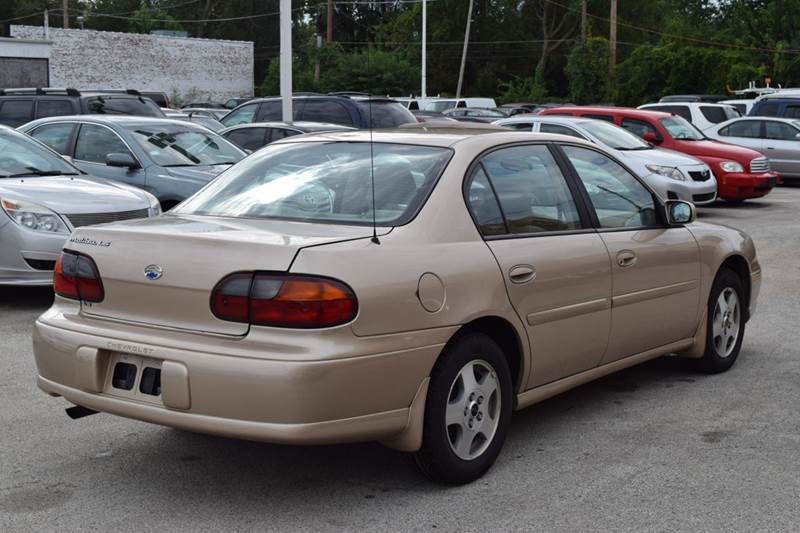2002 Chevrolet Malibu for sale at CRESTWOOD AUTO AUCTION in Crestwood IL