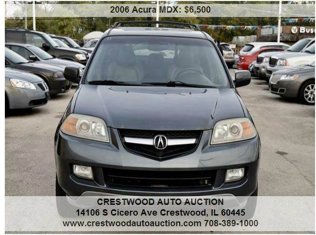 2006 Acura MDX for sale at CRESTWOOD AUTO AUCTION in Crestwood IL