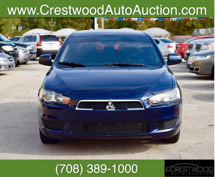 2013 Mitsubishi Lancer for sale at CRESTWOOD AUTO AUCTION in Crestwood IL
