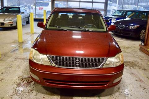 2001 toyota avalon for sale in illinois. Black Bedroom Furniture Sets. Home Design Ideas