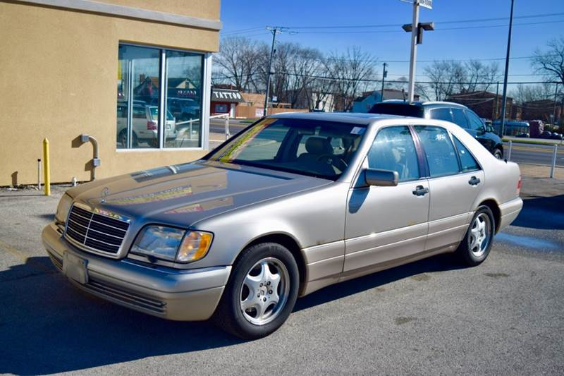 1999 Mercedes-Benz S-Class for sale at CRESTWOOD AUTO AUCTION in Crestwood IL
