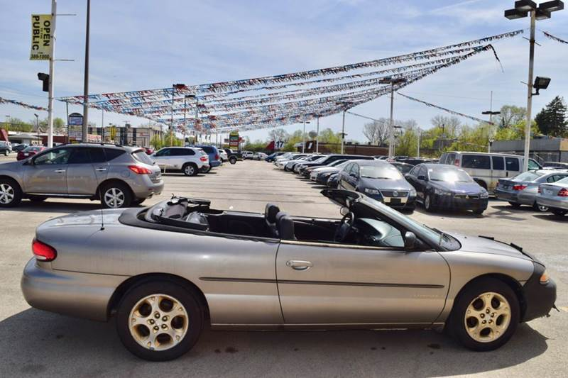1998 Chrysler Sebring for sale at CRESTWOOD AUTO AUCTION in Crestwood IL
