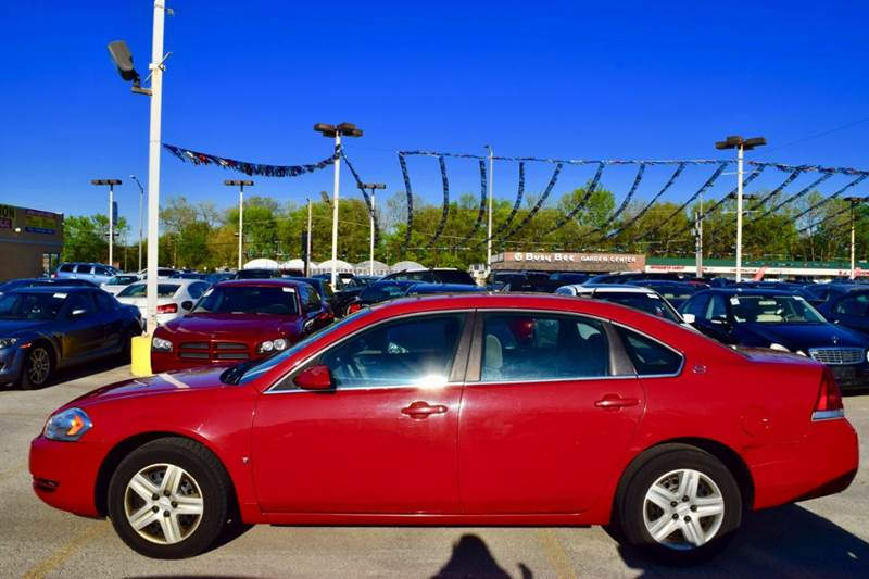 2008 Chevrolet Impala for sale at CRESTWOOD AUTO AUCTION in Crestwood IL