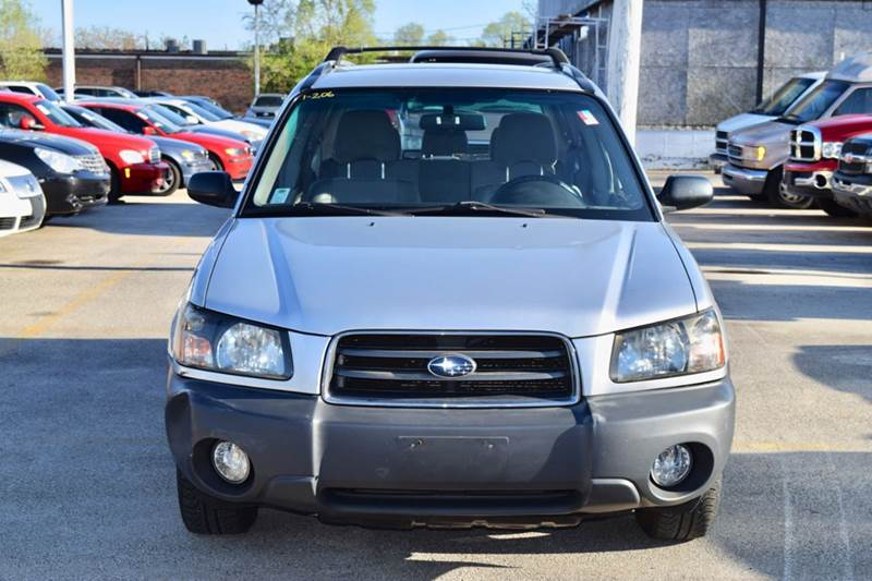 2003 Subaru Forester for sale at CRESTWOOD AUTO AUCTION in Crestwood IL