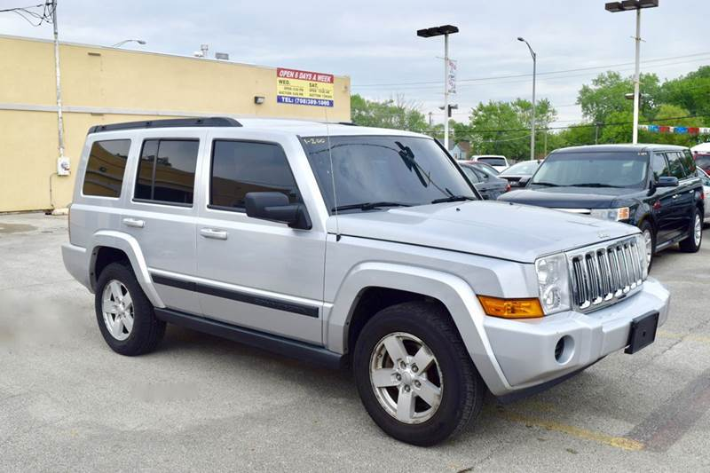 2007 Jeep Commander for sale at CRESTWOOD AUTO AUCTION in Crestwood IL