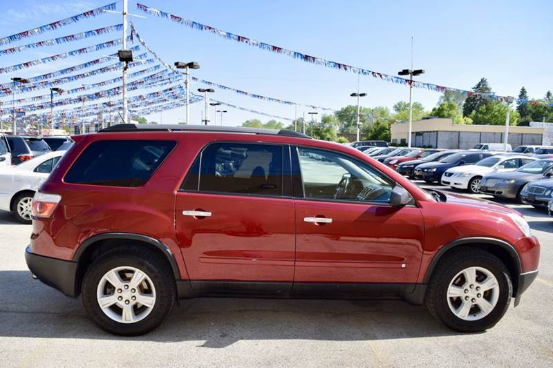 2010 GMC Acadia for sale at CRESTWOOD AUTO AUCTION in Crestwood IL