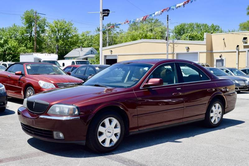 2003 Lincoln LS for sale at CRESTWOOD AUTO AUCTION in Crestwood IL