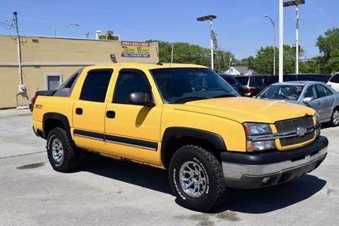 2003 chevrolet avalanche for sale in illinois. Black Bedroom Furniture Sets. Home Design Ideas