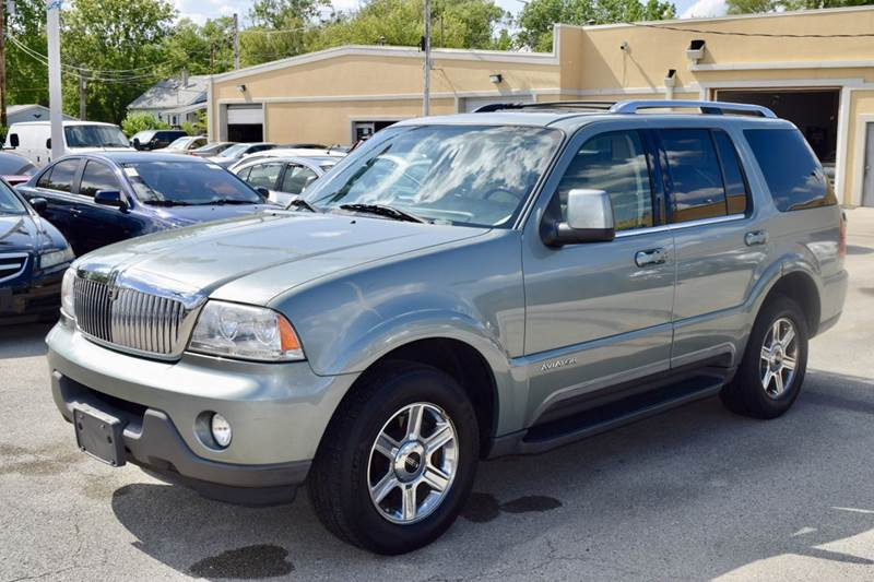 2005 Lincoln Aviator for sale at CRESTWOOD AUTO AUCTION in Crestwood IL