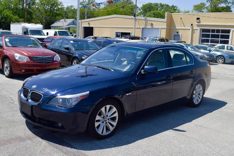 2005 BMW 5 Series for sale at CRESTWOOD AUTO AUCTION in Crestwood IL