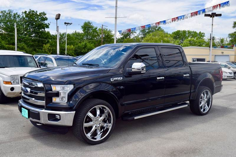 2015 Ford F-150 for sale at CRESTWOOD AUTO AUCTION in Crestwood IL