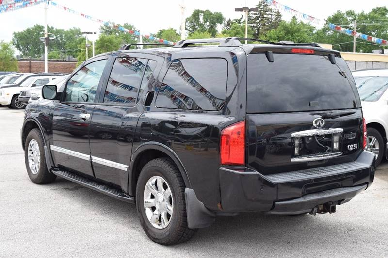 2004 Infiniti QX56 for sale at CRESTWOOD AUTO AUCTION in Crestwood IL