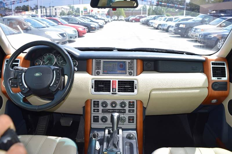 2004 Land Rover Range Rover for sale at CRESTWOOD AUTO AUCTION in Crestwood IL