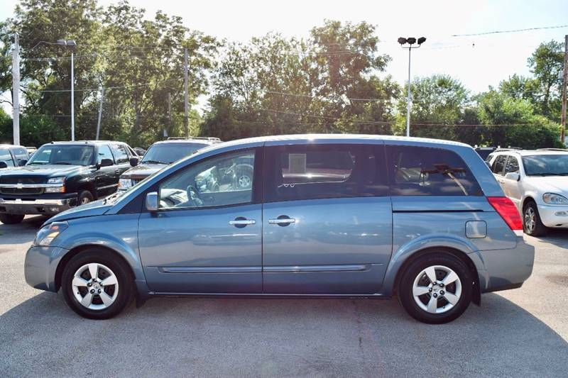 2008 Nissan Quest for sale at CRESTWOOD AUTO AUCTION in Crestwood IL
