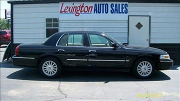2008 Mercury Grand Marquis for sale in Lexington, NC