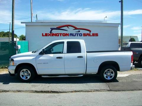 2004 Dodge Ram Pickup 1500 for sale in Lexington, NC