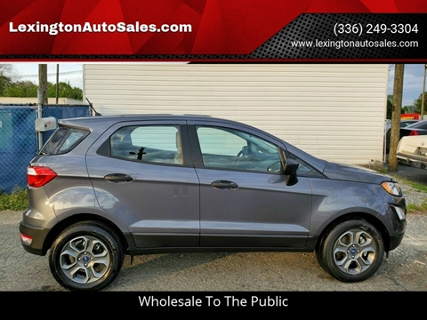 2018 Ford EcoSport for sale in Lexington, NC