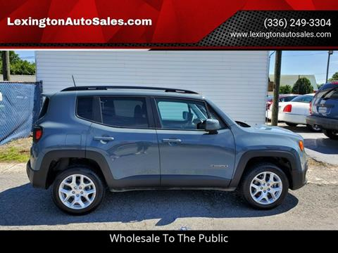 2018 Jeep Renegade for sale in Lexington, NC