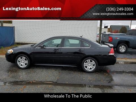 2012 Chevrolet Impala for sale in Lexington, NC
