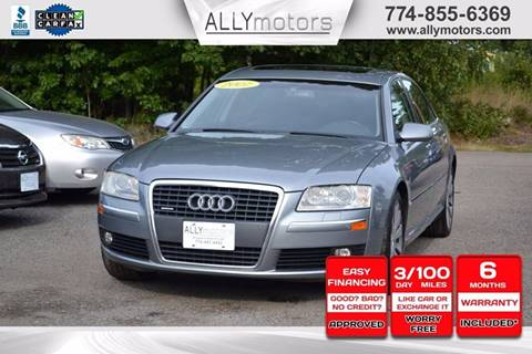 2007 Audi A8 L for sale in Whitman, MA