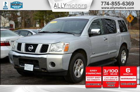 2006 Nissan Armada for sale in Whitman, MA