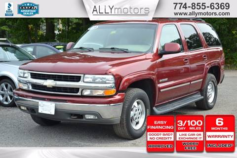 2003 Chevrolet Tahoe for sale in Whitman, MA