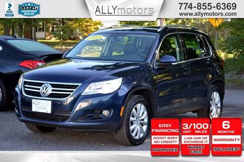 2011 Volkswagen Tiguan for sale in Whitman, MA