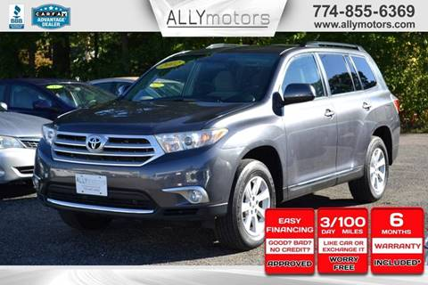 2012 Toyota Highlander for sale in Whitman, MA