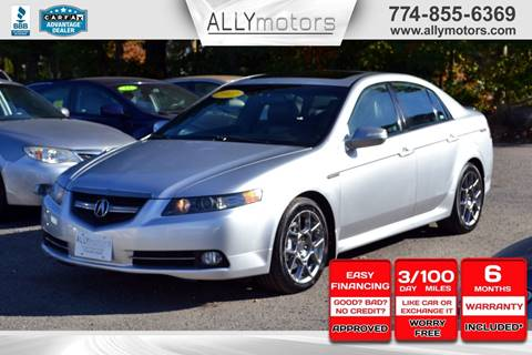 2007 Acura TL for sale in Whitman, MA