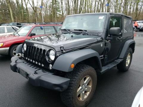 2014 Jeep Wrangler for sale in Whitman, MA